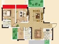 出售天佑中央公园城3室2厅2卫105平米63万住宅